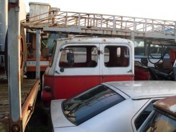 Om cerbiatto autoscala doppia cabina