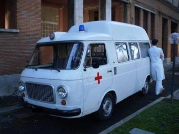 Fiat 238 ambulanza seconda serie