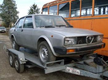 Alfa Romeo Alfetta 2000 seconda serie