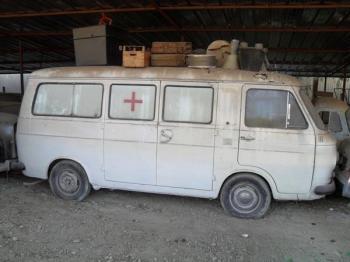 Fiat 238 camper ambulanza